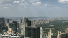 Central Park HDR Aerial - stock footage