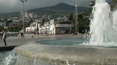 Yalta Waterfront Stock Footage