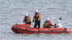RNLI Training Stock Footage