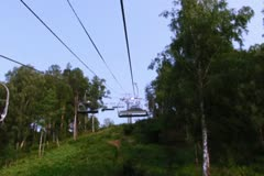 Ski lift Stock Footage