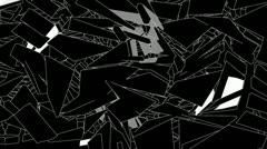 VJ Loop Set - Fractalious Video 16 Stock Footage