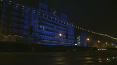 The Grand Hotel in Brighton (two shots) Stock Footage