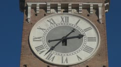 Timelapse kaunis kaupunki kello Arkistovideo