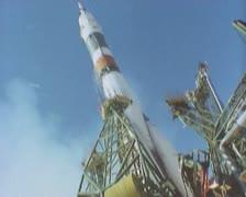 Ballistic missile Stock Footage