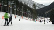 Stock Video Footage of Jasna Ski Resort