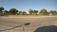 Drive From Kendall to Miami Beach Stock Footage