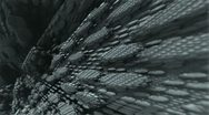 Gray complex structures m1045T Stock Footage