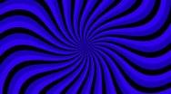 Spiral Sunbeams Loop blue Stock Footage
