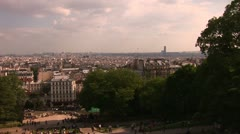 City of Paris - stock footage
