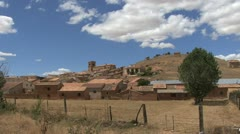 Spain Aragon village Stock Footage