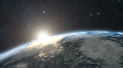 Stock Video Footage of Planet Earth - Sunrise