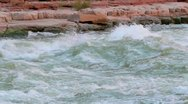 Stock Video Footage of river rapids in colorado river in grand canyon national park