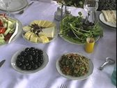 Stock Video Footage of Armenian meal
