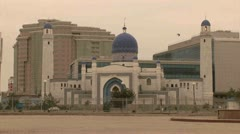 Mosque in Atyrau - Kazakhstan Stock Footage