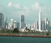 Panama City - stock footage