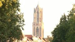 Utrecht, City Center - The Netherlands Stock Footage