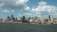 New York Skylights Stock Footage