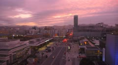 Sunset City 3 Stock Footage