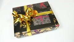 Gift package for all occasions Stock Footage