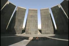 Armenia Museum Armenian Holocaust  - stock footage