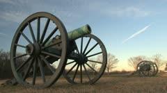 Manassas Cannon Stock Footage