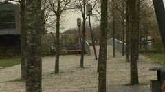 Griftpark, Utrecht - The Netherlands Stock Footage
