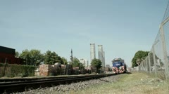 Argentina Train - stock footage