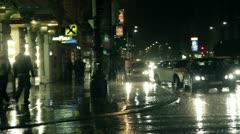 Rain in Wien Stock Footage
