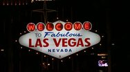 Stock Video Footage of LAS VEGAS SIGN