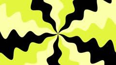 Spiral Sunbeams Loop12 yellow Stock Footage