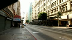 City Street - stock footage
