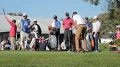 PGA Golfer Ben Ogilvie Stock Footage