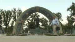 Dushanbe, Tajikistan Stock Footage