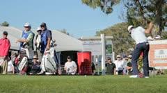 PGA Golfer Justin Rose Stock Footage