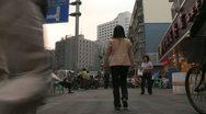 Street in Shenzhen Stock Footage