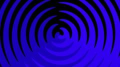 Spiral Sunbeams Loop15 blue Stock Footage