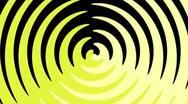 Spiral Sunbeams Loop15 yellow Stock Footage