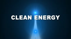 Renewable Clean Energy Transition Stock Footage