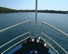 Sailing to the Brijuni, Croatia Stock Footage
