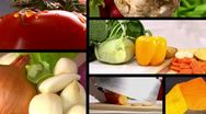 Stock Video Footage of Food Composition - Vegetable