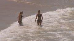 Bondi Beach, Sydney, Australia - Full HD PT4 Stock Footage