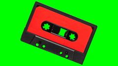 Audio tape pump Stock Footage
