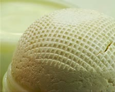 Fresh cheese Stock Footage