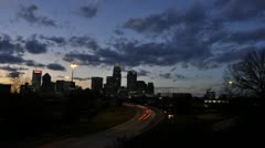Charlotte at Twilight - stock footage