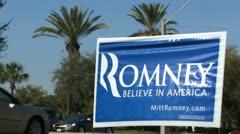 Romney Sing 04 Stock Footage