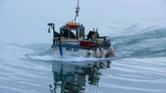 Fishing Boat 1 Stock Footage