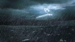 Stormy Ocean Stock Footage