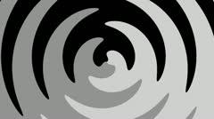 Spiral Sunbeams Loop14 Stock Footage