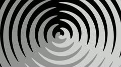 Spiral Sunbeams Loop15 Stock Footage