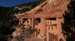 Colorado Manitou Cliff Dwellings C03x Stock Footage